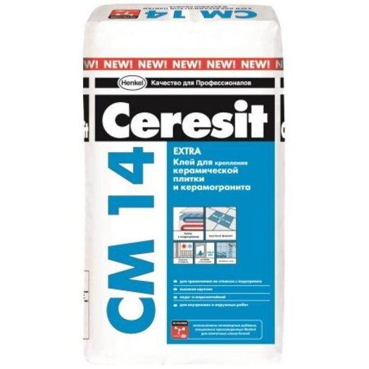 Церезит Клей для плитки Ceresit CM 14 Экстра