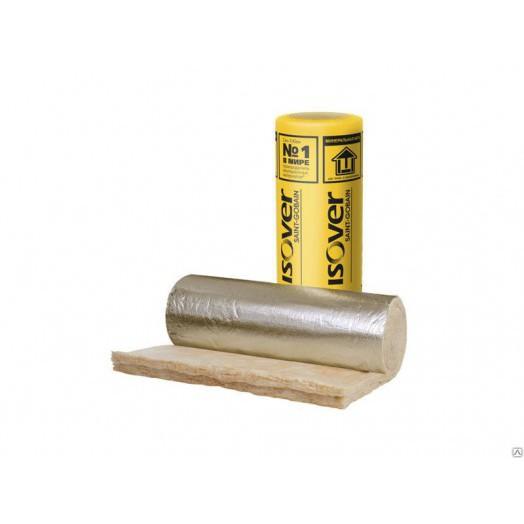 Утеплитель ISOVER КТ 40--AL-50Сауна 0.75м3/15м2