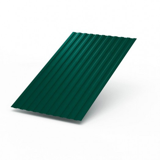 Профнастил краш.(зелен.мох RAL6005) С-8 0,5х1200х6000