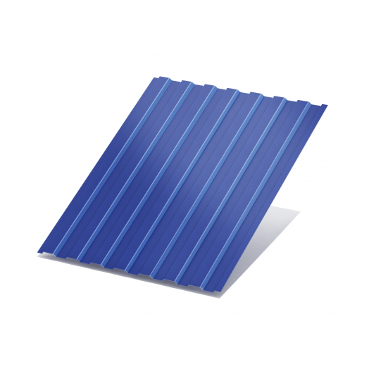 Профнастил краш.(синий RAL 5005) С-8 0,4х1200х4000
