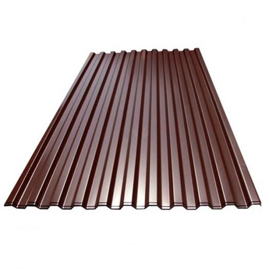 Профнастил краш.(шоколад RAL8017) С-8 0,5х1200х6000