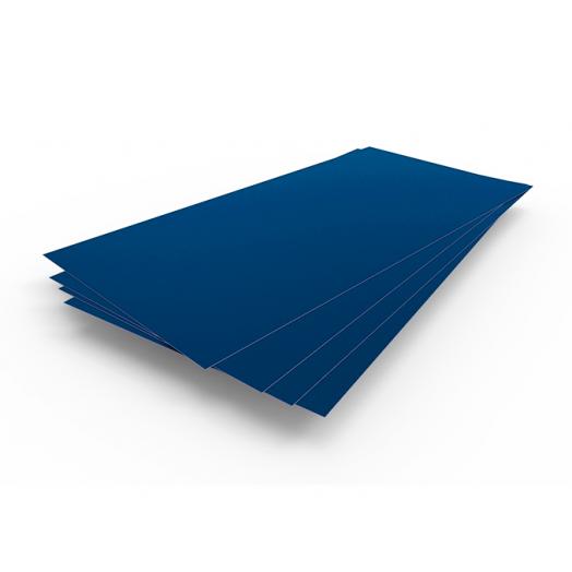 Сталь крашенная(синий 5005) 0,5х1250х2500