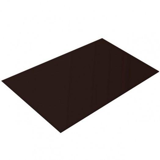 Сталь крашенная(шоколад 8017) 0,5х1250х2500