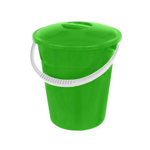Ведро пластиковое 6л евро пищевое с крышкой
