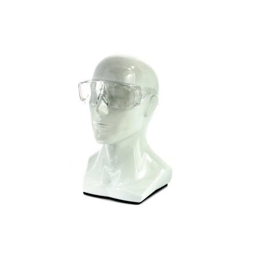 Очки защитные открытого типа, прозрачные, ударопрочный поликарбонат